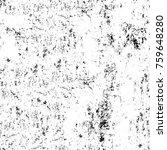 grunge black and white pattern. ... | Shutterstock . vector #759648280