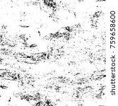 grunge black and white pattern. ... | Shutterstock . vector #759658600