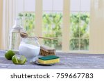 eco friendly natural cleaners... | Shutterstock . vector #759667783