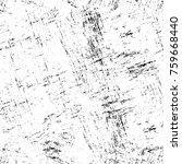 grunge black and white pattern. ... | Shutterstock . vector #759668440