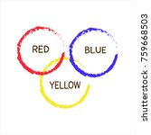 three primary colors. | Shutterstock .eps vector #759668503