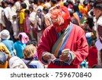 paro bhutan apr 4 2015 buddhist ... | Shutterstock . vector #759670840
