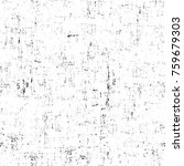 grunge black and white pattern. ... | Shutterstock . vector #759679303