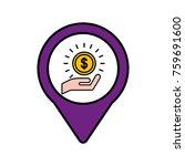investment money social media... | Shutterstock .eps vector #759691600
