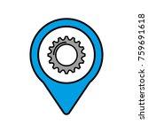solution gear social media... | Shutterstock .eps vector #759691618