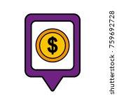 money dollar social media... | Shutterstock .eps vector #759692728