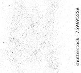 grunge black and white pattern. ...   Shutterstock . vector #759695236