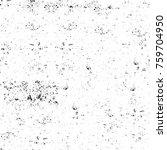 grunge black and white pattern. ... | Shutterstock . vector #759704950