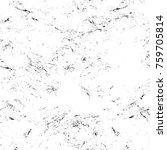 grunge black and white pattern. ... | Shutterstock . vector #759705814