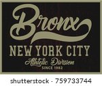vintage varsity graphics and... | Shutterstock .eps vector #759733744