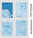 abstract banner template with... | Shutterstock .eps vector #759752269