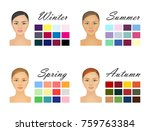 human appearence information... | Shutterstock .eps vector #759763384
