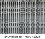 folded steel door pattern