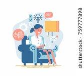 vector design element on... | Shutterstock .eps vector #759777898