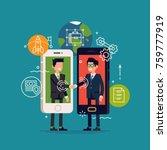 cool vector concept... | Shutterstock .eps vector #759777919