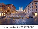 monumental staircase spanish... | Shutterstock . vector #759780880