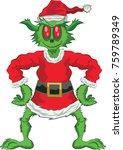 Green Ogre In Christmas Full...
