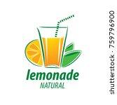 logo for lemonade | Shutterstock .eps vector #759796900