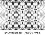 black and white pattern for... | Shutterstock . vector #759797956
