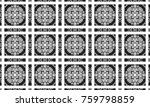 black and white textured...   Shutterstock . vector #759798859