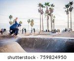 Skateboarder Venice Beach...