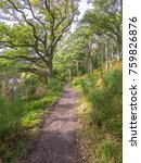 walking on the west highland... | Shutterstock . vector #759826876