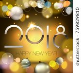 happy new year background | Shutterstock .eps vector #759829810