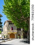 aigueze  france   april 28 ... | Shutterstock . vector #759831550