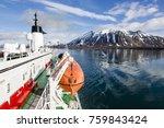 longyearbyen  norway   june 28  ... | Shutterstock . vector #759843424