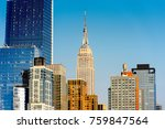 new york  usa   sep 18  2017 ... | Shutterstock . vector #759847564