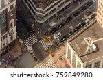 new york  usa   sep 17  2017 ... | Shutterstock . vector #759849280