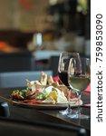 mediterranean food gourmet chef'...   Shutterstock . vector #759853090
