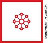 network line vector icon | Shutterstock .eps vector #759886924
