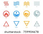 vector illustration of four... | Shutterstock .eps vector #759904678