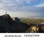 top of piestewa peak     | Shutterstock . vector #759907999