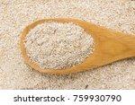 avena sativa is scientific name ... | Shutterstock . vector #759930790