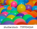 ball color for child   colorful ... | Shutterstock . vector #759934264