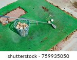 abandoned golf course old grass ... | Shutterstock . vector #759935050