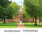 Small photo of WILLIAMSBURG, VA – OCTOBER 6: Established in the seventeenth century, the College of William and Mary is one of the oldest and most prestigious of U.S. colleges October 6, 2017 in Williamsburg, VA