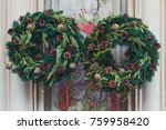 facade decoration with...   Shutterstock . vector #759958420