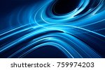 abstract blue and black... | Shutterstock . vector #759974203