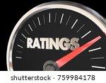ratings audience metrics... | Shutterstock . vector #759984178