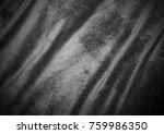 a black velvet texture... | Shutterstock . vector #759986350