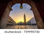 night view of san macro square... | Shutterstock . vector #759990730