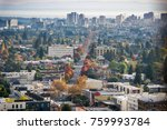 aerial view of north oakland on ... | Shutterstock . vector #759993784