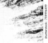 grunge halftone black and white ... | Shutterstock .eps vector #759996499