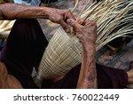 Closeup Old Vietnamese Male...