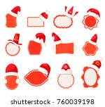 vector collection of empty sale ... | Shutterstock .eps vector #760039198