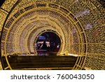 Christmas Lights And Tunnels A...