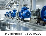 A Number Of Electric Motors...